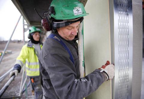 Utökat sortiment av stålprofiler ger energieffektiv yttervägg
