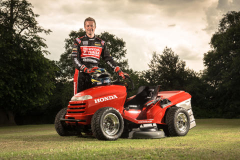Honda åkgräsklippare Mean Mower