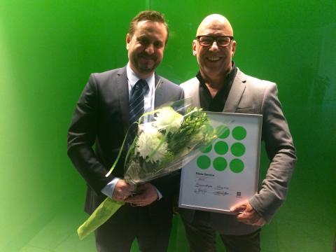 Direkt från prisutdelningen: Viking Line fyrfaldig Service Score-vinnare