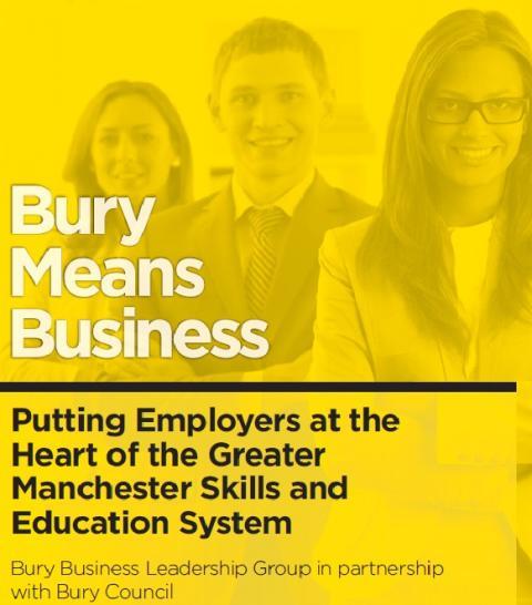 Mayor Andy Burnham key speaker at Bury business event