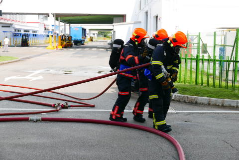 Panasonic Application Refrigeration Devices Singapore (PAPRDSG) hosts First Industrial Anti-Terror Simulation with SPF and SCDF
