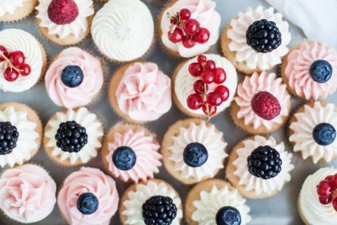 Cupcakes fra Sweetsneak