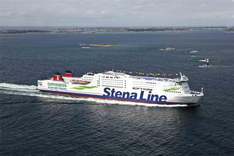 Stena Line launches the world's first methanol ferry