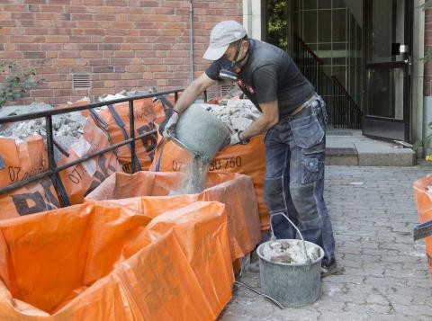 Stockholms fastighetsbolag enade: Nya krav på att förebygga och återvinna byggavfall