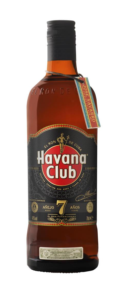 Havana Club Ãnejo 7 ãnos