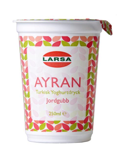 Mångfalden utvecklar handel - Nu finns Ayran med smak av jordgubb!