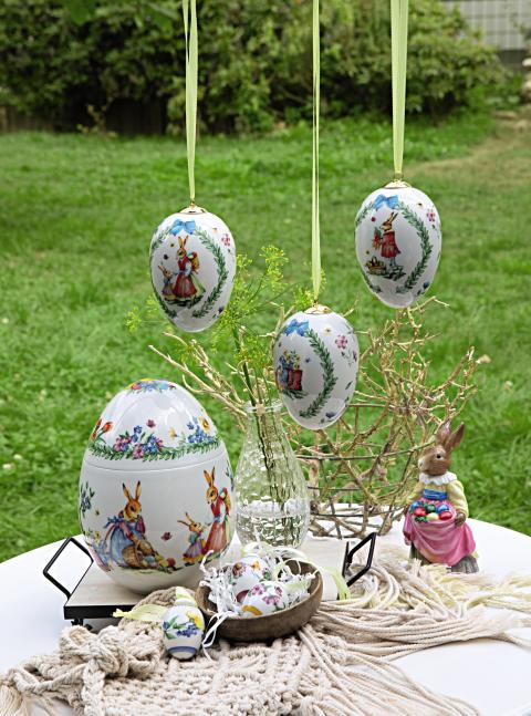 Easter decoration ideas for home and garden: Hutschenreuther collector`s editions 2019