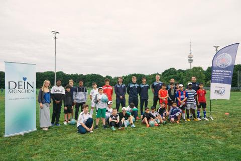 Drei, zwei, eins, TOR - ein Fußball-Tag mit der Münchner Fußball Schule