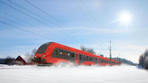 MTR Express utklassade konkurrenterna i punktlighet under 2017
