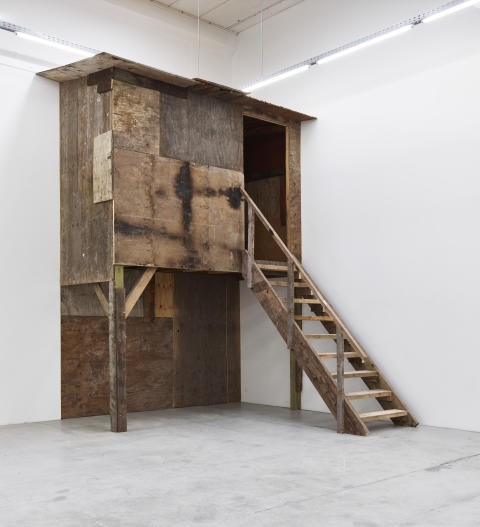 E.B. Itso, Untitled (Hut), 2015.