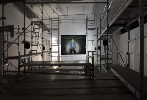 Lars Laumann Season of Migration to The North, 2015 Installation view, kunstnernes hus 2015