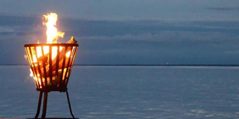 Höstbål för Östersjön
