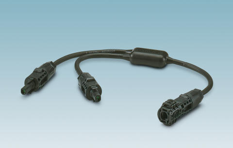 Connectors for the DC energy distribution of photovoltaic systems