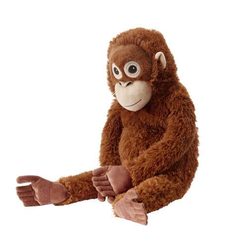 DJUNGELSKOG tøjdyr, orangutang 79.-