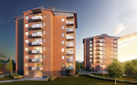 För första gången byggs bostadsrätter i Övre Lövgärdet