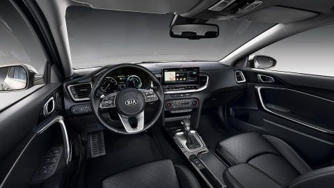 Interiøret i nye Kia XCeed PLug-in Hybrid