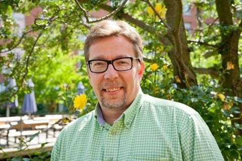 Lari Pitkä-Kangas (MP), kommunalråd och ordförande i Malmö Fairtrade City
