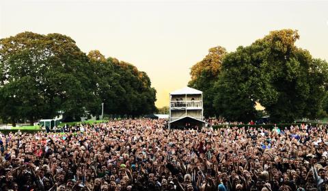 Programmet för Eskilstuna Parkfestival med tider