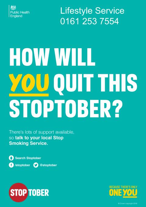 Stoptober returns to Bury to challenge smokers to quit