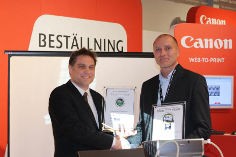 "Canons produkter vinnare i BLI Winter ""Pick"" Awards"