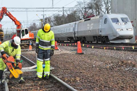 Järnvägsarbete