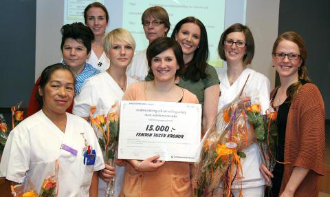 Vinnare av kvalitetspriset  2012