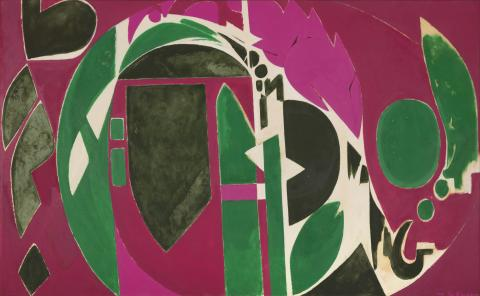 Lee Krasner, Palingenesis 1971 © The Pollock-Krasner Foundation
