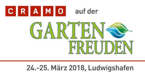 Cramo auf der Gartenfreuden Ludwigshafen