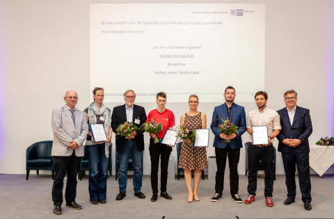 """Hochschulpräsenzstelle ist Preisträger im Wettbewerb """"Region Zukunft"""""""