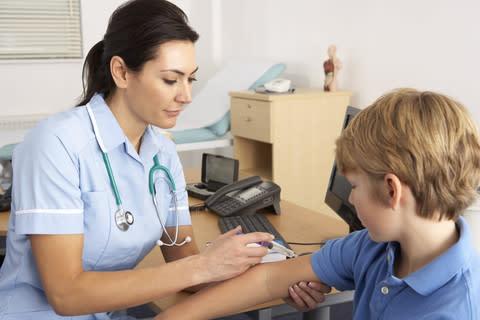 Allergitestning – en risk för den som utför testet