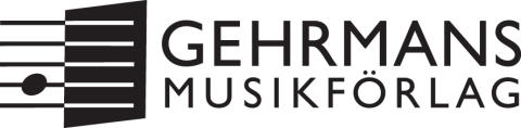 Gehrmans logo, svart, jpg