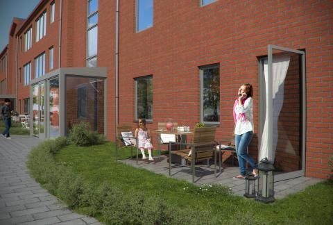19 maj river vi det gamla huset på Kortedala Torg - ger plats åt nya lägenheter