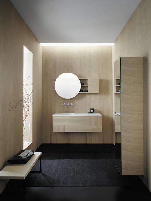 Coco von burgbad ist gemacht, um selbst kleine, urbane Räume mit einem anspruchsvollen Interior Design-Konzept zu gestalten.