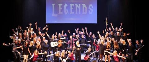 Rytmus Legends fyllde Stora Teatern i Göteborg