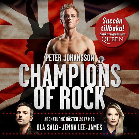 """Succén """"Champions of Rock"""" tillbaka i Scandinavium"""