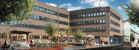 Fastighets AB Stenvalvet hyr ut till Compass Group AB, som startar restaurang, café och konferensanläggning i K43 i Eskilstuna