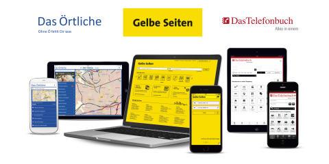 """United Internet Media vermarktet Digital-Angebote von """"Das Telefonbuch"""", """"Das Örtliche"""" und """"Gelbe Seiten"""""""