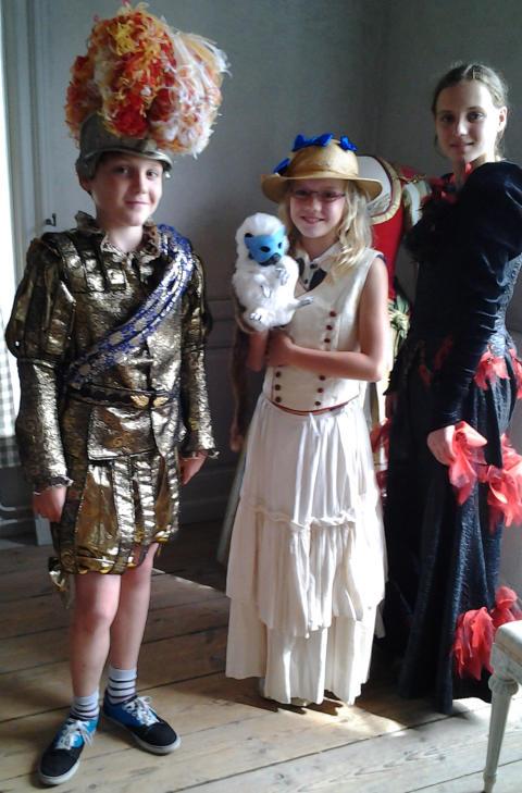 Höstlov på Drottningholms Slottsteater