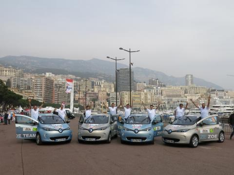 Renault ZOE vinner 6:e ZENN Monte Carlo Rallyt