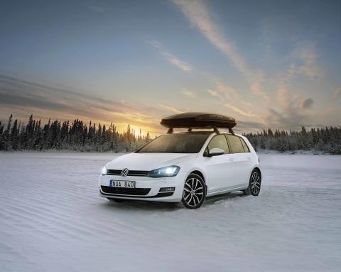 Tre Volkswagen-bilar på spel i Vasaloppets vintervecka 2013