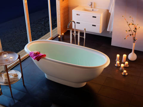 Premiär för Westerbergs nya badkar