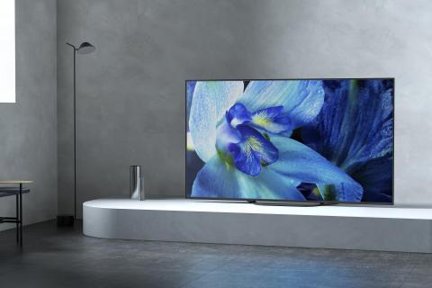 O primeiro televisor Sony OLED 4K HDR de 2019 chega às lojas com a série AG8