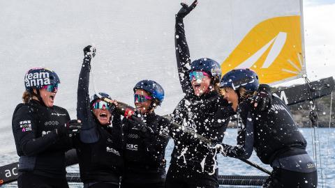 Anna Östling försvarade titeln på Marstrand