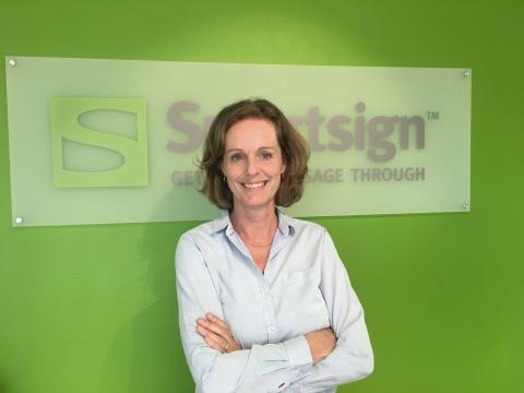 Maria Dahlström, ny COO på Smartsign AB