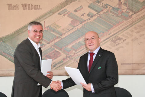 Kooperationsvereinbarung mit dem Oberstufenzentrum Recht Berlin unterzeichnet / Juristische und wirtschaftswissenschaftliche Studienorientierung