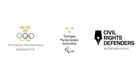 Olympier och Paralympier i samarbete med Civil Rights Defenders