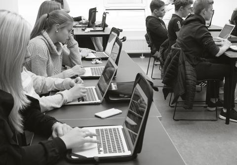 Digitala läromedel – en stor fördel för elever på resande fot på Malmö Idrottsgymnasium