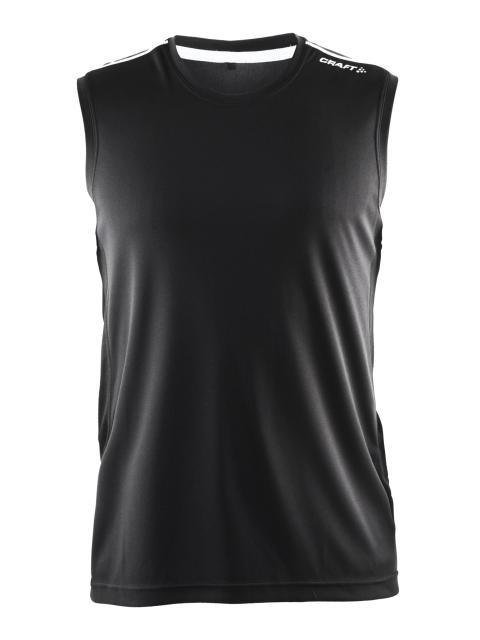 Mind sleeveless (herr) i färgen black. Finns också i färgen line black.