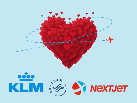 KLM och NextJet fördjupar sitt samarbete – förenklar flygningar till och från åtta städer i Sverige