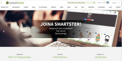 Smartster.se screenshot